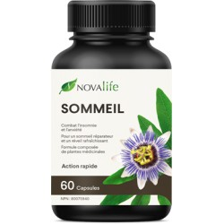 Bouteille novalife sommeil